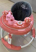 Детские ходунки Свинка Пеппа красный