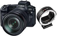 Цифровой фотоаппарат Canon EOS R Kit (RF 24-105mm f/4L IS USM) + Adapter VILTROX EF-EOS R