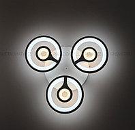 Современная LED люстра с пультом 3 режима на 3 лампы, фото 1