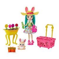 Кукла Enchantimals Вместе веселее Крольчата-садоводы GJX32 GJX33