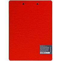 """Планшет с зажимом Berlingo """"Steel&Style"""" A4, пластик (полифом), красный, фото 2"""