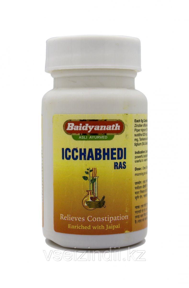 Ичхабеди Рас Байдьянатх Icchabhedi Ras Baidyanth - слабительное, 40 табл