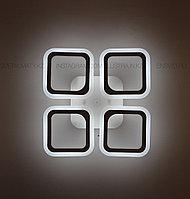 """Современная LED люстра """"Квадрат"""" с пультом 3 режима 80W, фото 1"""