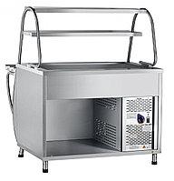 Прилавок холодильный ПВВ(Н)-70М вся нерж.