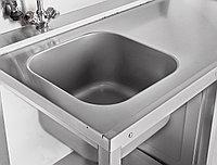 Стол предмоечный СПМП-6-3 (1200*671) для посудомоечной машины МПК-700К, фото 1