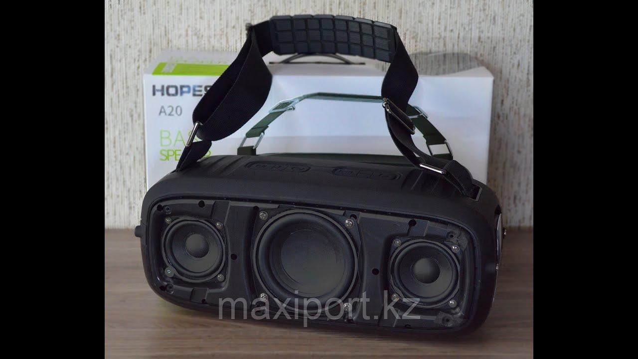 Boombox Портативная колонка Hopestar A20 красная(мощность 55watt) - фото 2
