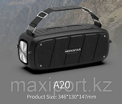 Boombox Портативная колонка Hopestar A20 красная(мощность 55watt) - фото 3