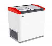 Морозильник горизонтальный FG 250 E красный