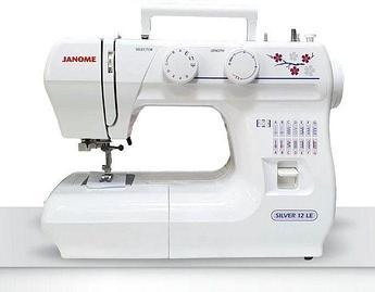 Швейная машина  Janome Silver 12 LE