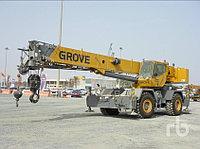 Автокран короткобазный Grove RT600E 50 тонный Услуги / Продажа