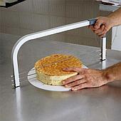 Слайсер для бисквита Martellato CS3, с 3-мя регулируемыми пилами