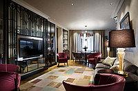Шторы для столовой и совмещенной гостиной