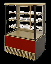 Холодильная витрина Veneto VS-0,95 Cube крашенная