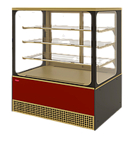 Холодильная витрина Veneto VS-1,3 Cube крашенная