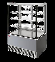 Холодильная витрина Veneto VS-0,95 Cube (нерж.)