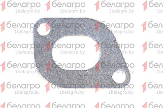 50-1008026-Б Прокладка МТЗ коллектора выпускного, боковая (овал.), РФ