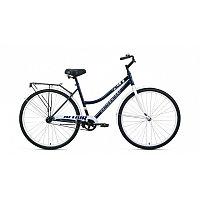 """Велосипед ALTAIR CITY 28 low (28"""" 1 ск. рост 19"""") 2020-2021, темно-синий/белый, RBKT1YN81007 /871200"""