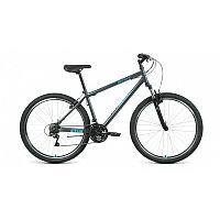 "Велосипед ALTAIR MTB HT 27,5 1.0 (27,5"" 21 ск. рост 17"") 2020-2021, темно-серый/мятный"