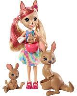 Кукла Enchantimals Камилла Кенгуру с семьей GTM31