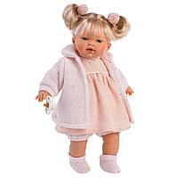 LLORENS: Кукла Аитана 33см, блондинка в розовом наряде