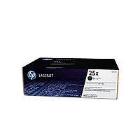 Тонер картридж HP 25X (Оригинальный, Черный - Black) CF325X