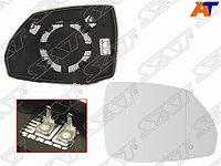 Полотно зеркала AUDI Q5 16-/Q7 15- RH асферическое с обогревом