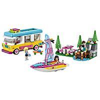 LEGO: Лесной дом на колесах и парусная лодка Friends 41681