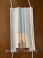 Маски трёхслойные (Meltblown BFE95). Казахстанский производитель. Гарантия качества и отсутствия брака!!!