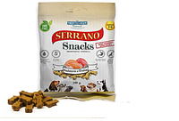 SERRANO Snacks Лакомство для Собак снеки из Лосося и Тунца 100 гр.