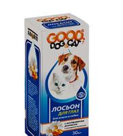 Good Dog&Cat Лосьон для ГЛАЗ для Кошек и Собак 30мл