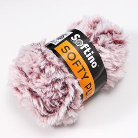 Пряжа фантазийная 100 микрофибра 'Softy plush' 100 гр 65 м бразилин (комплект из 10 шт.) - фото 2