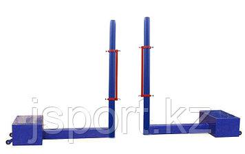 Стойка волейбольная передвижная с лебедкой для троса