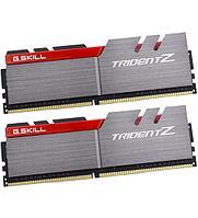 Комплект модулей памяти G.Skill Trident Z, F4-3200C16D-16GTZB DDR4, 16 GB, grey/red