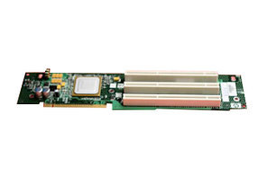 HP 378907-001 PCI riser cage, with non-hot-plug PCI-X