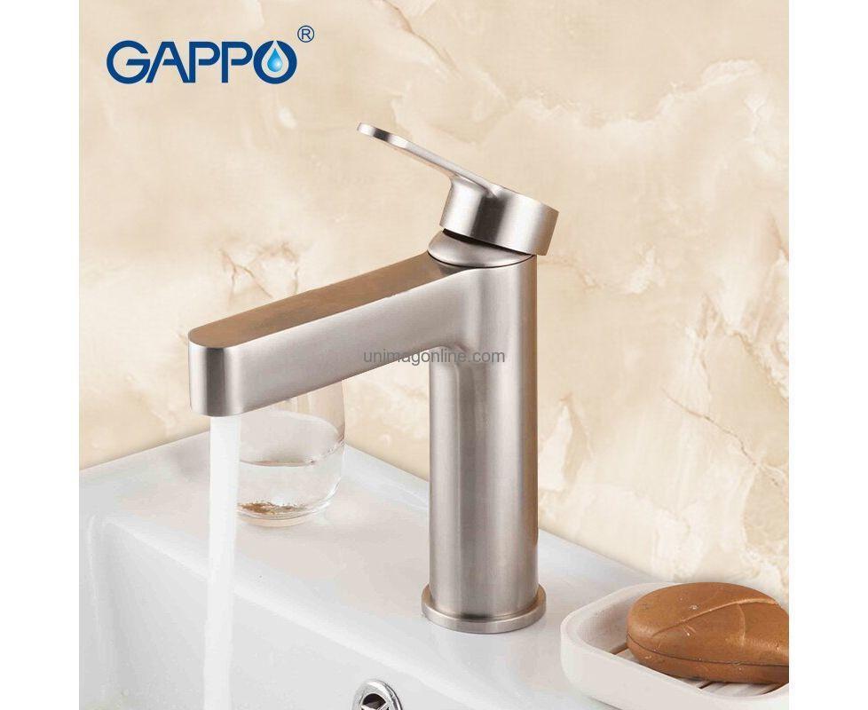 Смеситель для умывальника GAPPO 1099-30 сатин