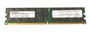 Оперативная память IBM 38L5916 2GB DDR2 PC2-3200R ECC REG