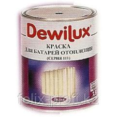 DEWILUX эмаль радиаторная . 2,5л