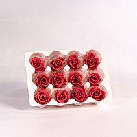 Роза Мини (ярко-розовый); 12 бутонов