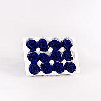 Роза Мини (королевский голубой); 12 бутонов