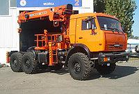 Бортовой автомобиль КАМАЗ 44108 с крано-манипуляторной установкой KANGLIM RK KS 1256 G-II
