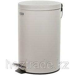 Ведро-контейнер для мусора (урна) OfficeClean Professional, 12л., серое, матовое