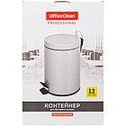 Ведро-контейнер для мусора (урна) OfficeClean Professional, 12л., серое, матовое, фото 6