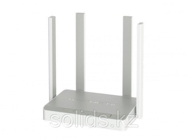 KEENETIC Speedster Двухдиапазонный гигабитный интернет-центр с Mesh Wi-Fi AC1200