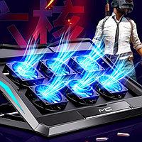 Игровая подставка для ноутбука 18 с 6-ю вентиляторами. Модель 2021 года