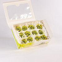 Роза Мини (зеленый чай); 12 бутонов
