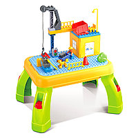 Стол Pituso для игры с конструктором в комплекте 42эл.
