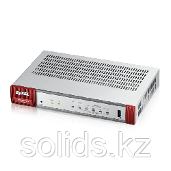 Беспроводной межсетевой экран Zyxel USG20W-VPN, 2xWAN GE (RJ-45 и SPF), 4xLAN/DMZ GE, 802.11a/b/g/n/, шт
