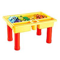 Стол для игры с конструктором Pituso в комплекте 70эл.