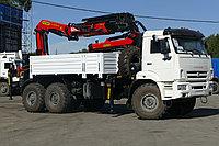 Бортовой автомобиль КАМАЗ 43118 с крано-манипуляторной установкой Palfinger PK 33002-EH