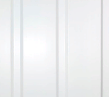 "Потолочная ПВХ панель ""Hast Plast"" 3-х полосная, 200х6000 мм 1,2 м2 (белый)"